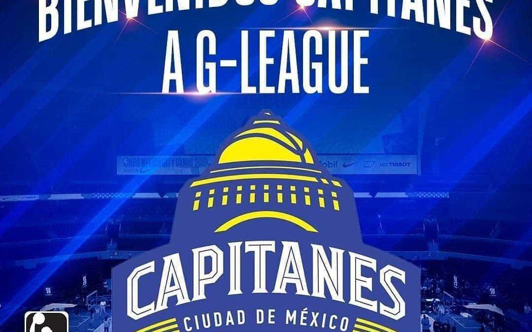 Capitanes se une a las G- League