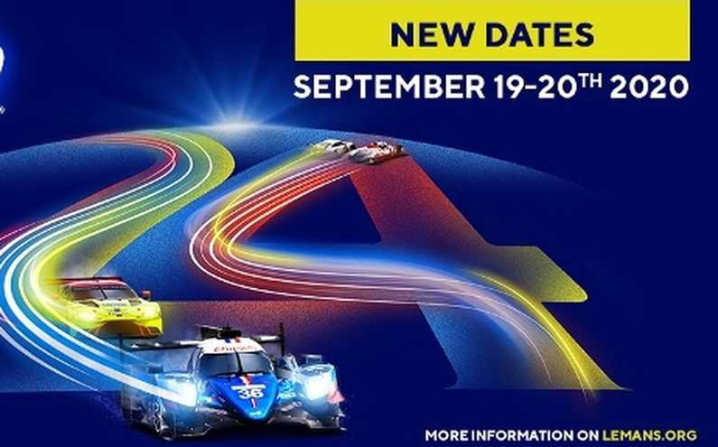 Las 24 Horas de Le Mans se van para septiembre