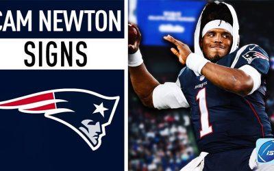 Cam Newton es nuevo jugador de Patriots