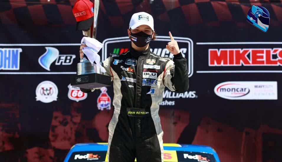 Juan Antonio Reyes, ganador de Mikels Trucks