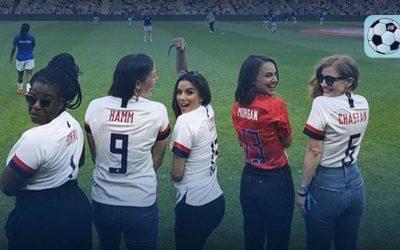 Natalie Portman, Eva Longoria y Serena Williams tendrán equipo de futbol soccer
