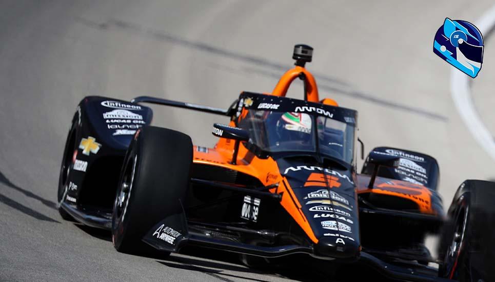 Patricio O´Ward gana el novato del año en #Indy500