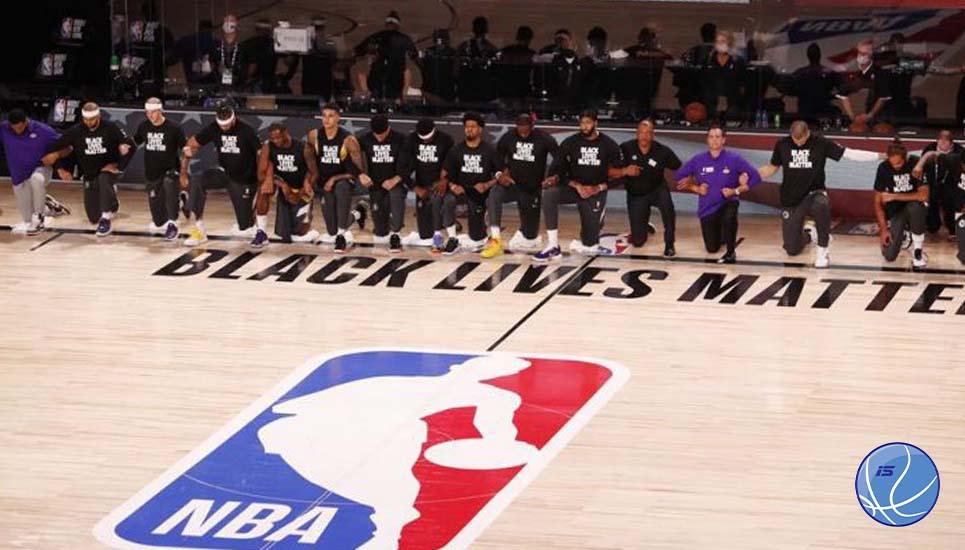 Las franquicias de la NBA apoyan el movimiento de los jugadores y la justicia social