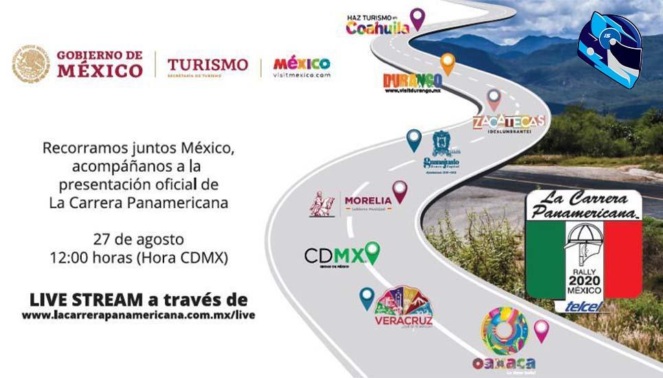 Disfruta de la Carrera Panamericana México 2020