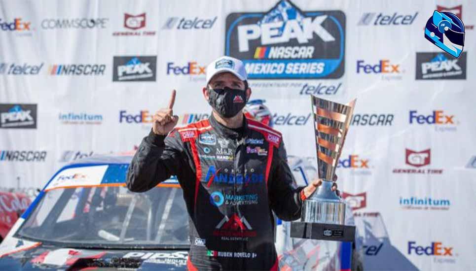 Rovelo regresa a la senda del triunfo en NASCAR PEAK México Series