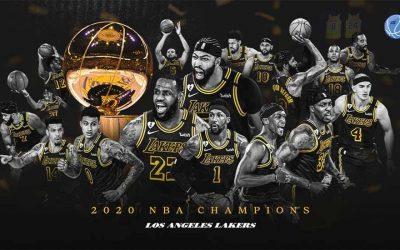 ¡Los Ángeles Lakers son campeones de la NBA!