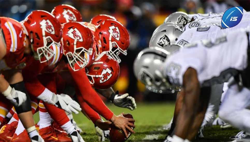 Las quinielas cayeron y Kansas City perdió ante los Raiders
