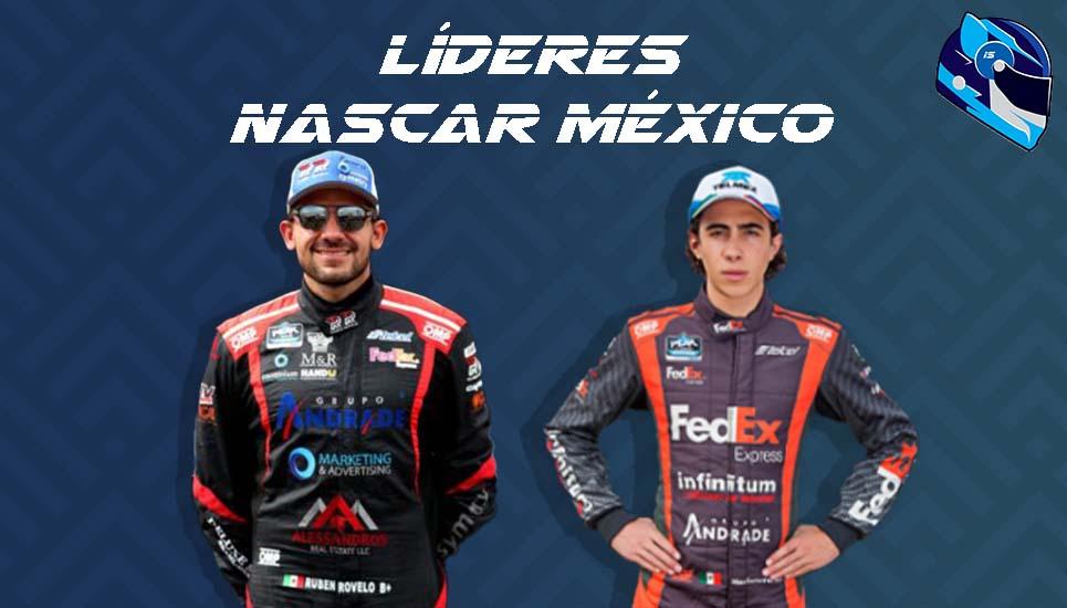 Los líderes de Nascar Peak México Series