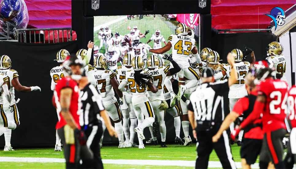 New Orleans humilla a Tom Brady