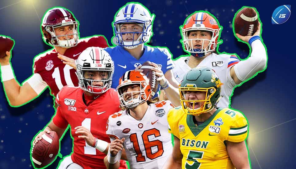 Los quarterbacks del Draft 2021