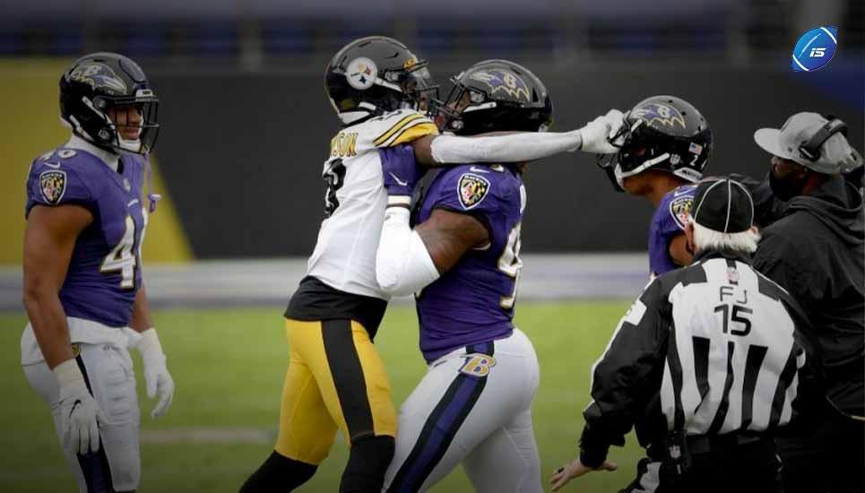El partido de Ravens vs Steelers fue aplazado. OTRA VEZ