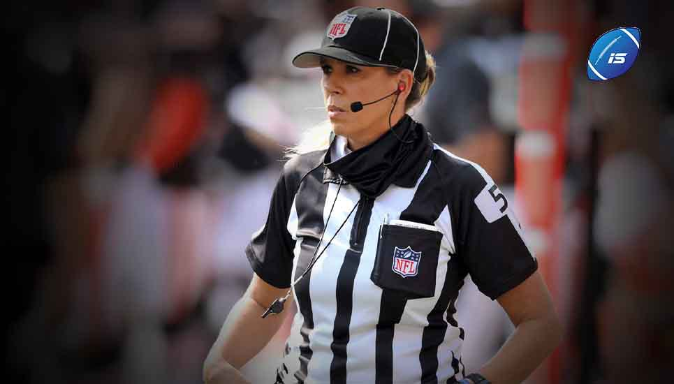 Sarah Thomas, primera mujer en arbitrar un Super Bowl