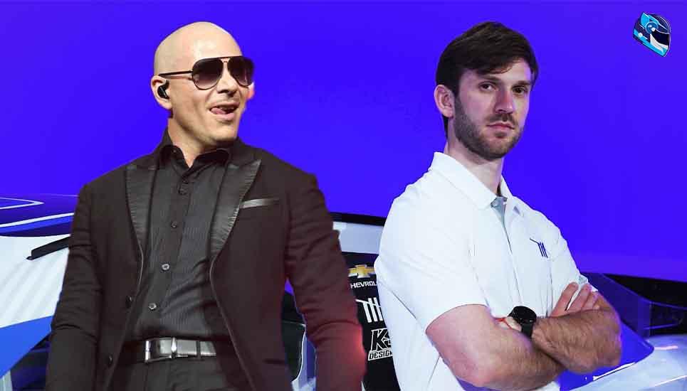 Pitbull incursiona en el mundo del automovilismo