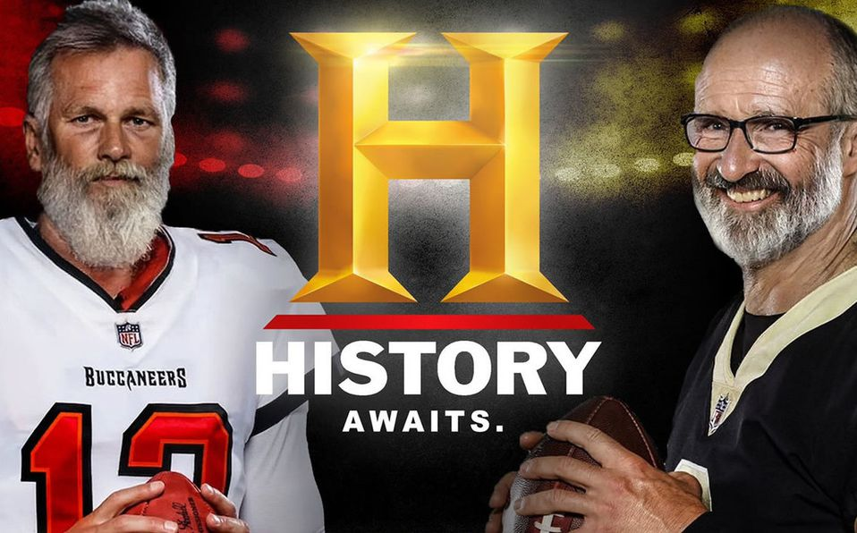 El encuentro de las dos leyendas: Tom Brady y Drew Brees