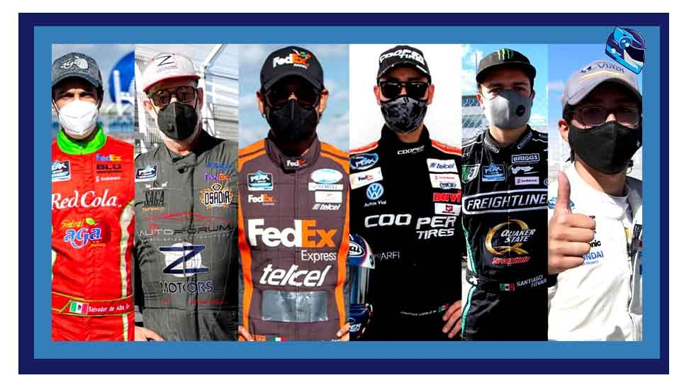 Pilotos, para la Nascar Peak México Series 2021