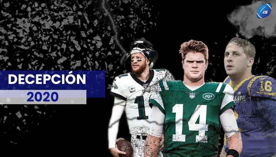 Actuaciones decepcionantes de la temporada 2020 de la NFL