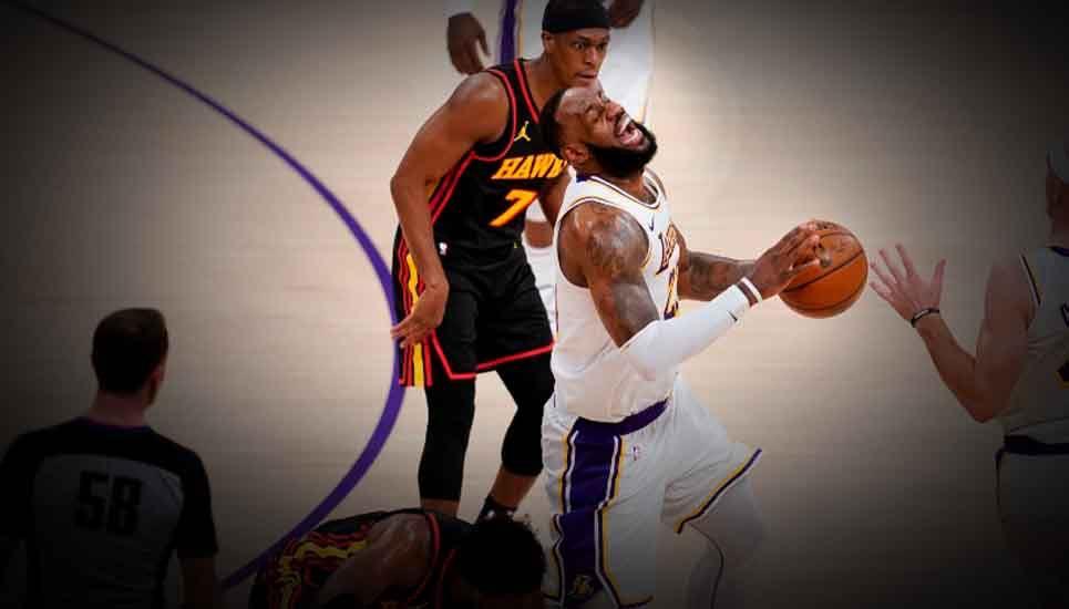 Pierden los Lakers ¿LeBron se queda fuera de la competencia?