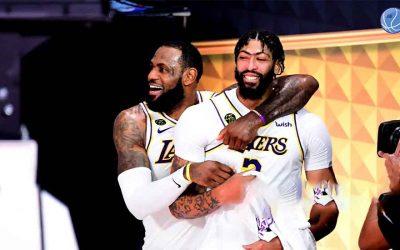 El regreso de Anthony Davis y LeBron James está más cerca de lo pensado