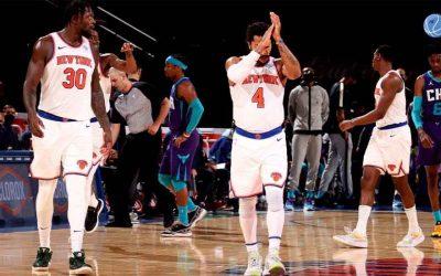 Los New York Knicks más fuertes y concentrados que nunca