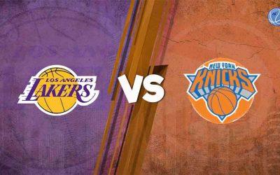 Imperdible duelo entre los New York Knicks y Los Angeles Lakers