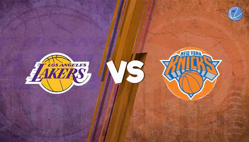 Imperdible duelo entre los New York Knicks y Los Angeles Lakers