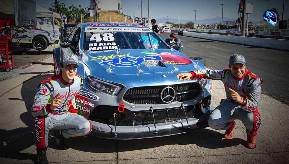 """Inauguración con doble """"Pole Position"""" para el Sidral Aga Racing Team"""