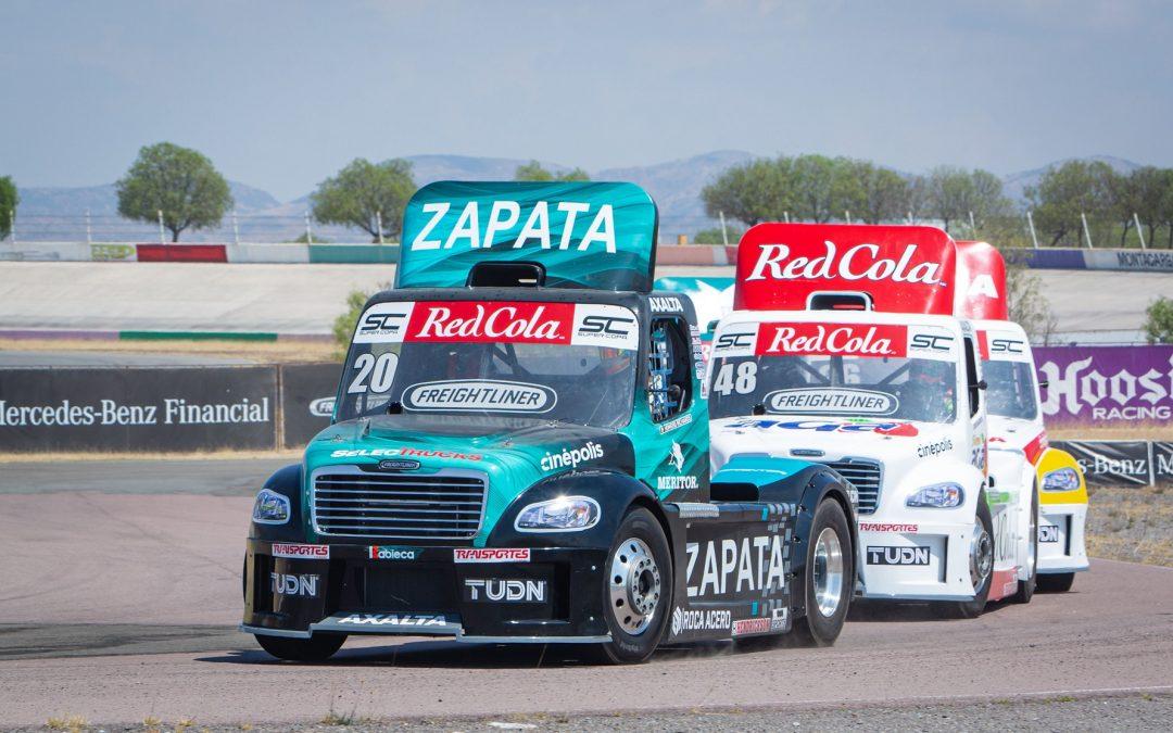 Richards de Alba y Rodriguez van por la delantera en los Tractocamiones Freightliner