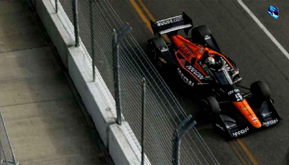 Patricio O'Ward consiguió su primer triunfo en la Indy Car