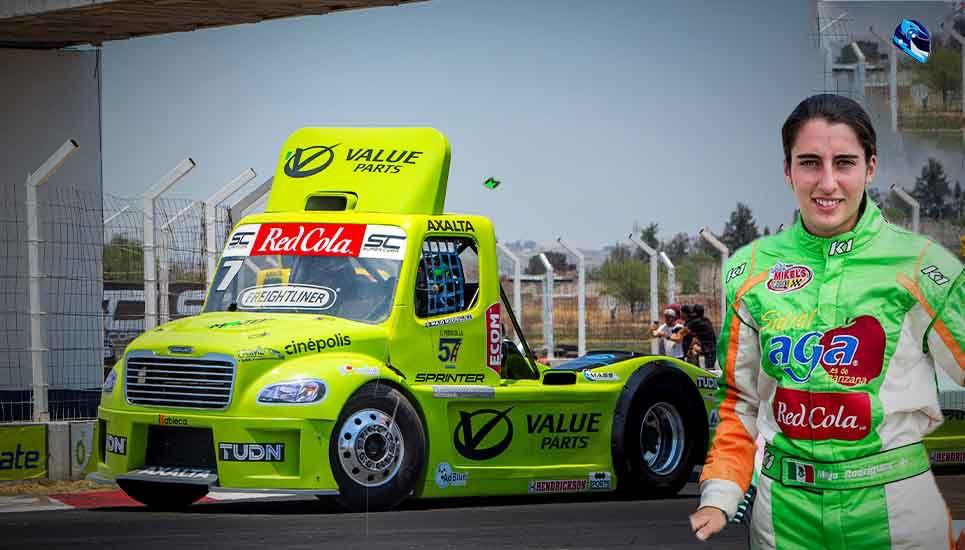 Majo Rodríguez va por el campeonato de los Tractocamiones Freighliner