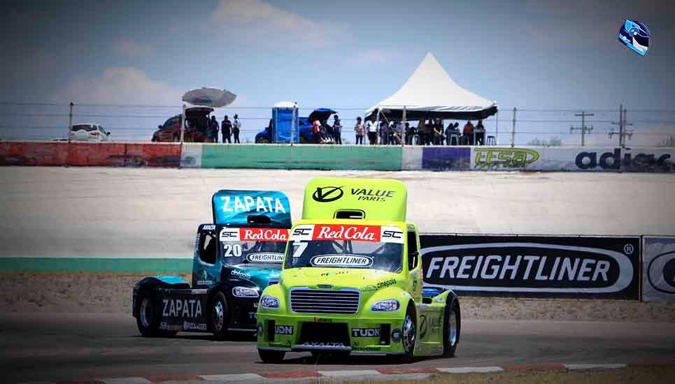 Espectacular actuación de Majo Rodríguez y Salvador de Alba Jr. en los Freightliner