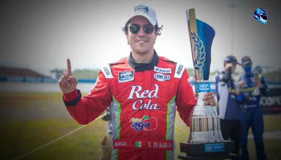 Salvador de Alba gana Nascar Peak Mexico Series