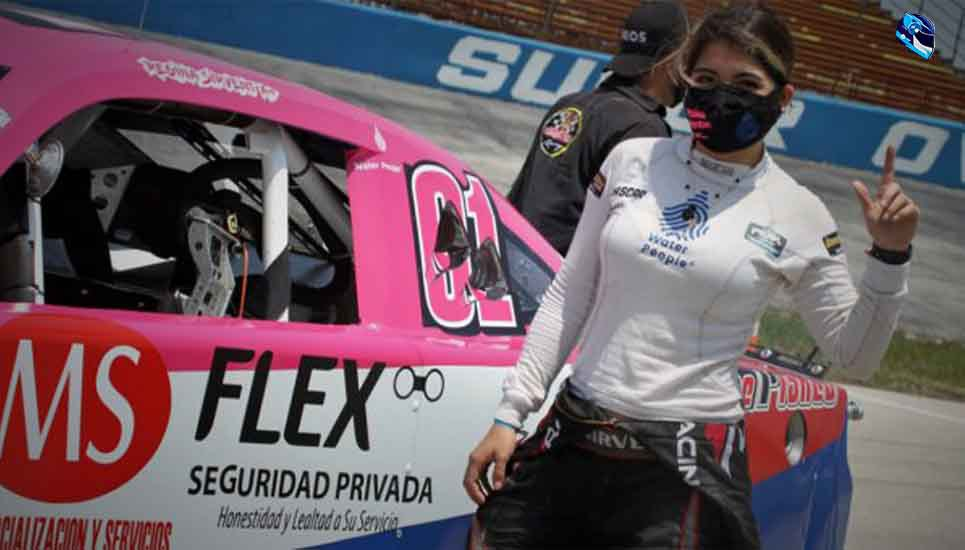 Regina Sirvent debutó en Nascar Challenge