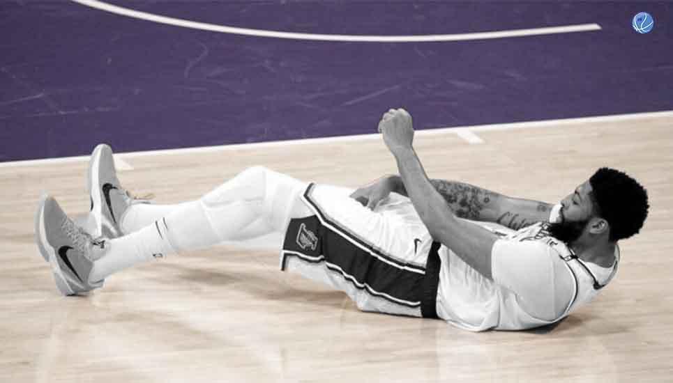 Anthony Davis sufre nueva lesión y todo está en riesgo