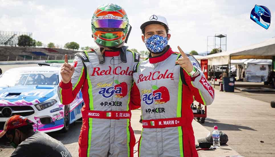 De Alba Jr. y Marco Marín al frente del Campeonato Mercedes Benz Pro-1