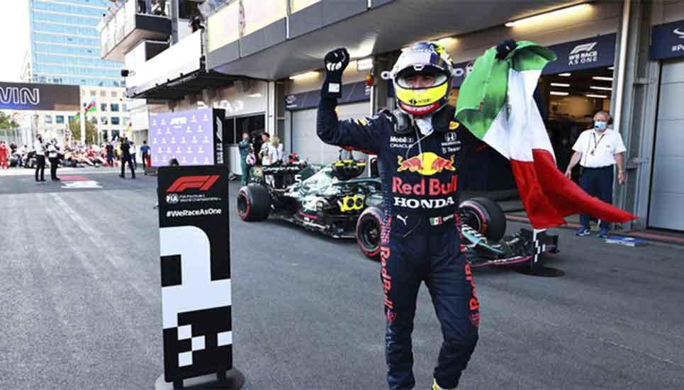 Checo Pérez cumple el primer objetivo con Red Bull