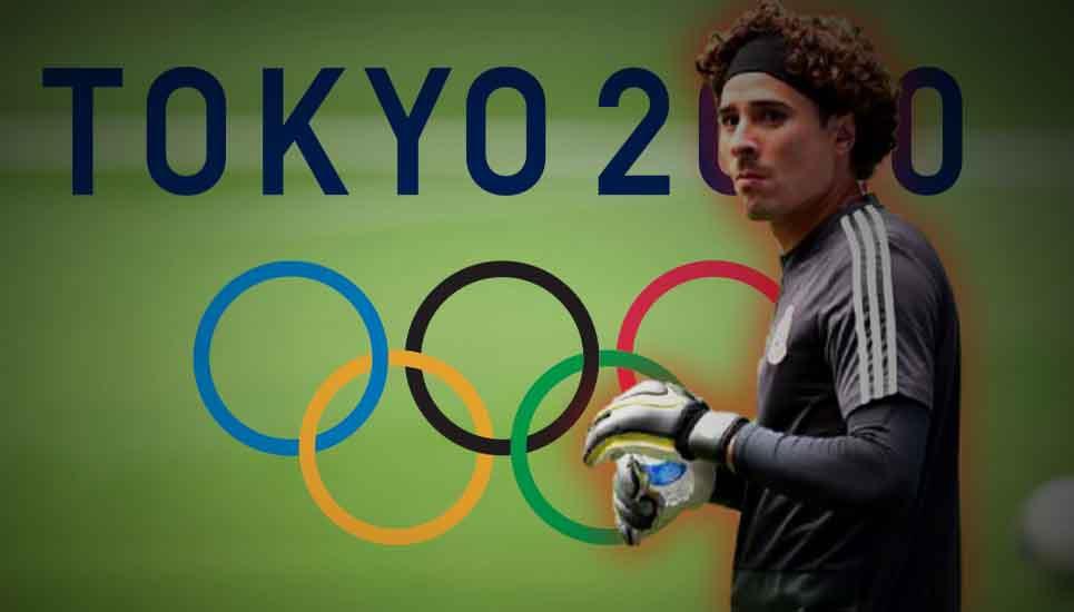 Memo Ochoa, listo para los Juegos Olímpicos de Tokio