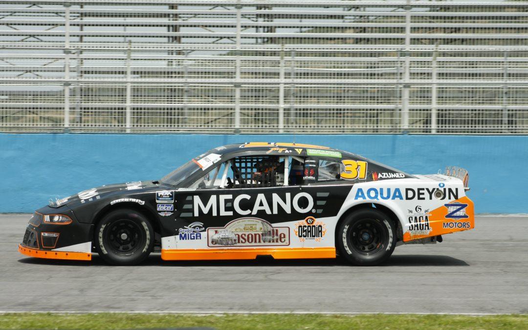 Jorge Goeters, preparándose para seguir avanzando en NASCAR PEAK