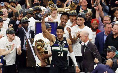 ¡Milwaukee Bucks campeones de la NBA!