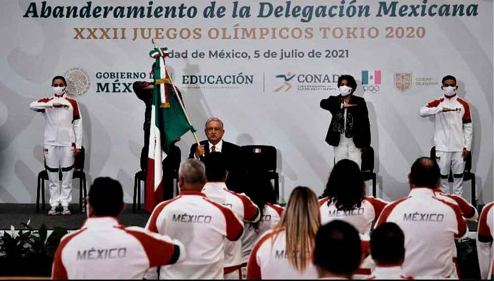 Todo listo para el viaje de la delegación mexicana a los Juegos Olímpicos de Tokio