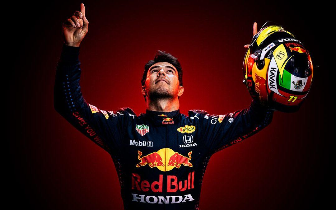 Checo pérez se queda en Red Bull hasta 2022
