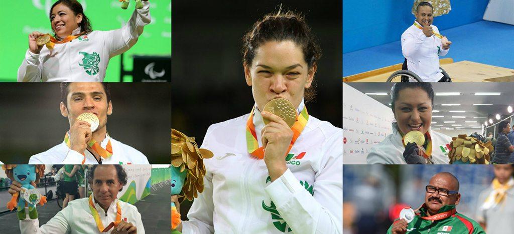 Fin de semana de medallas para los representantes paralímpicos mexicanos