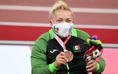 Rosa María Guerrero, segunda medallista paralímpica mexicana
