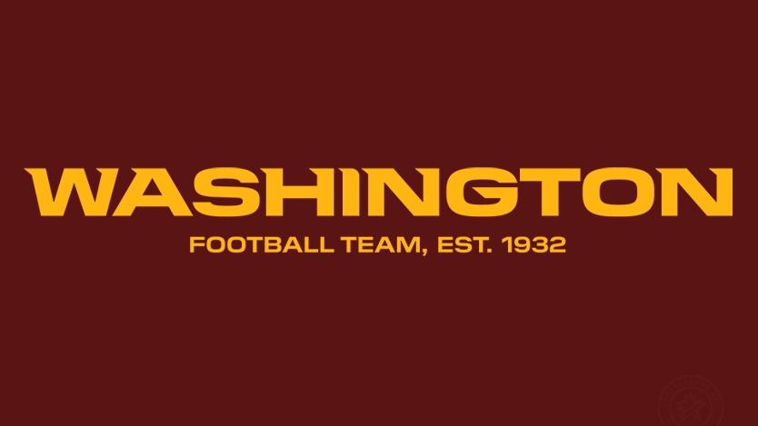 Washington Football Team listo para escoger su nuevo nombre