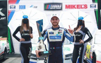 Giancarlo Vecchi y su truck triunfan en Monterrey