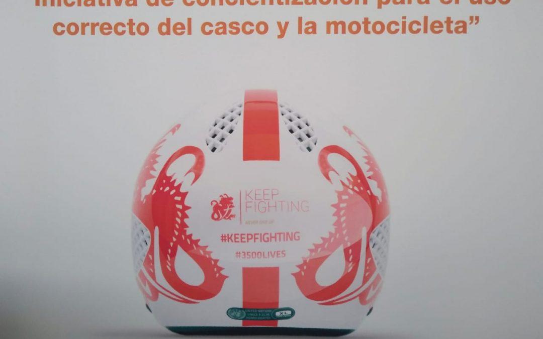 Por una concientización para el uso correcto del casco y la motocicleta