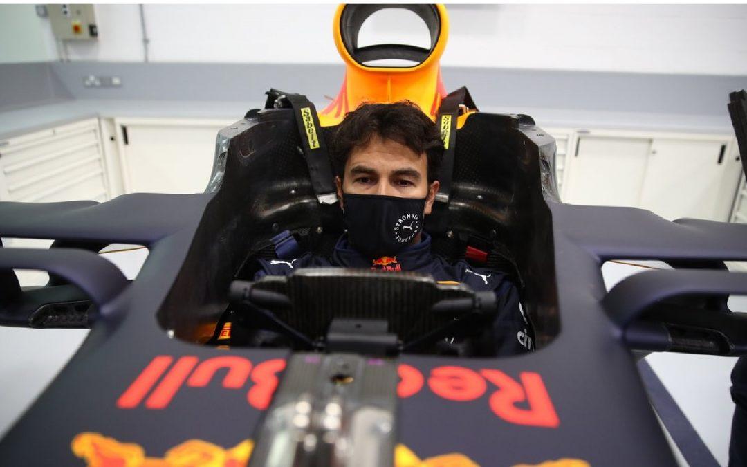 Checo Pérez tiene el ojo puesto en el podio del GP de Italia