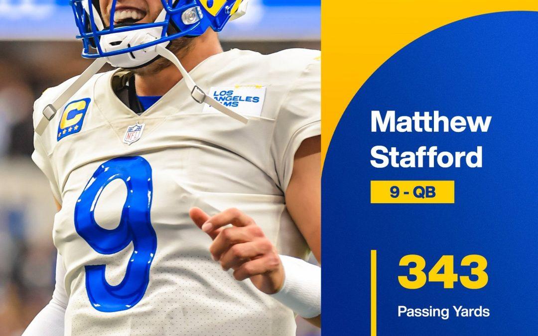 Matthew Stafford y los Rams demuestran que el «hype» es real en la victoria sobre los campeones defensores Buccaneers
