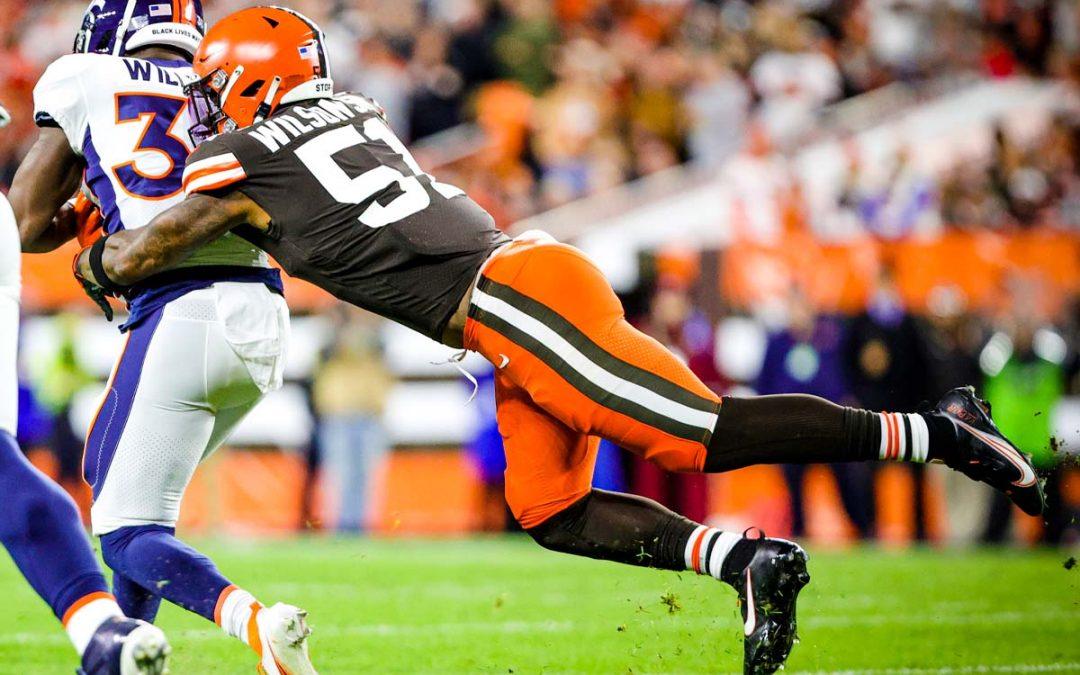 Los Browns superan a Broncos en el TNF