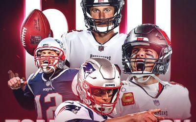 Brady se convierte en el primer jugador en lanzar 600 TDs