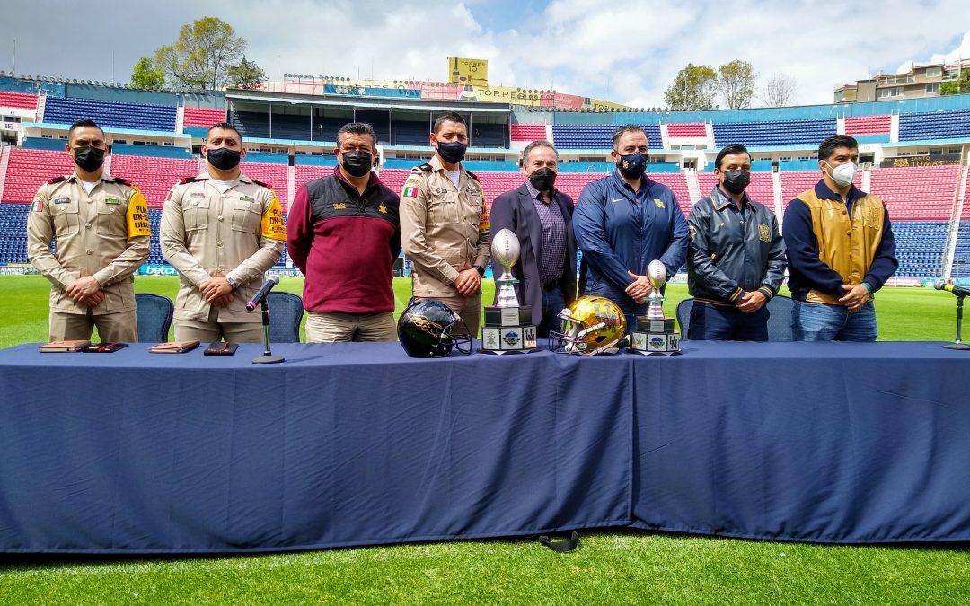 Pumas CU y Aguiluchos del HCM llegará al Estadio de la Ciudad de los Deportes